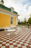Old style terrace Royalty Free Stock Photos