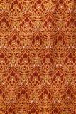 Old style Thai Silk Stock Photo