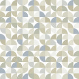 Old style tiles seamless background, vector pattern design. Royalty Free Stock Photo