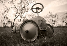 Old style toy car Royalty Free Stock Photography