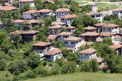 Old style Turkish konak country houses Stock Image