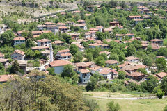 Old style Turkish konak country houses Stock Images
