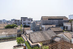 Old style village in China Royalty Free Stock Photography