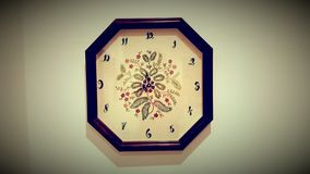 Old style vintage clock Royalty Free Stock Images