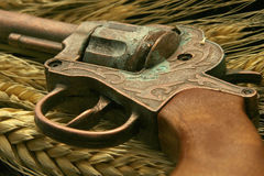 Old Style Western gun Stock Photos