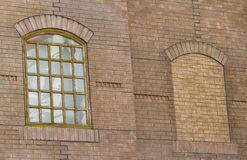 Old style window on brick building Stock Photography