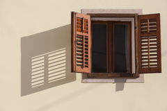 Old style window Royalty Free Stock Photography