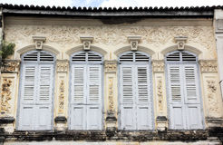 Old Style windows Royalty Free Stock Images