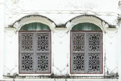 Old style windows Royalty Free Stock Photo