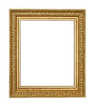 Old style wood frame isolated Royalty Free Stock Photo