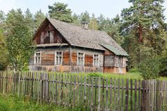 Old-style wooden house Royalty Free Stock Image