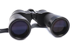 Old style worn binocular Royalty Free Stock Image