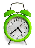 Old styled alarm clock Stock Image