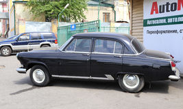 The old styled car of VOLGA model Stock Photo