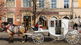 Old-styled carriage Stock Photos