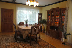 Old styled dinning room Royalty Free Stock Photography