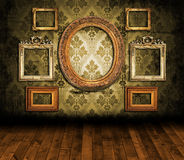 Old styled interior. Texture, background Stock Image