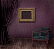 Old styled interior Royalty Free Stock Images