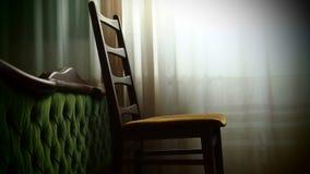 Furniture. Old stylish furniture in Belgrade Stock Photo