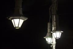 Old stylish street lamp. Royalty Free Stock Photo