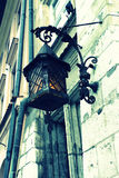 Old stylish street lamp Royalty Free Stock Photos
