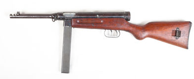 Old submachine gun Stock Photo