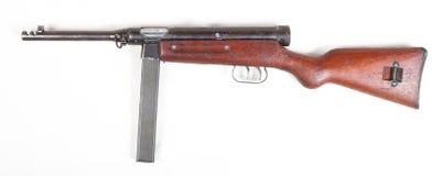 Old submachine gun stock photo