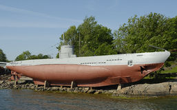An old submarine Stock Photography