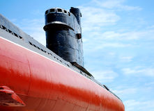 Old submarine closeup Royalty Free Stock Photo