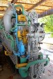 Old submarine engine Royalty Free Stock Photos