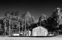 Old substation Royalty Free Stock Image