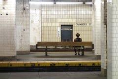 Old New York City Subway Station Royalty Free Stock Photo