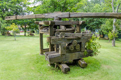 Old Sugar cane mill. Royalty Free Stock Images