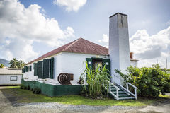 Old sugar farm in Road Town, British Virgin Islands Stock Photography