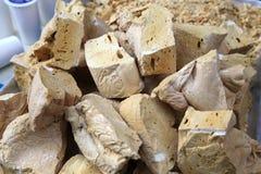 The old sugar honey paste, ginger sugar honey paste Royalty Free Stock Image