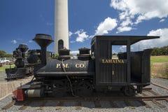 Old sugar trains, Lahaina, Maui, Hawaii Royalty Free Stock Image