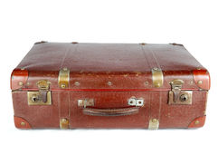 Old suitcase Stock Images