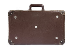 Old suitcase with clipping path Stock Image