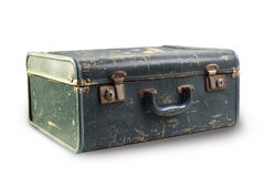 Old suitcase closeup Royalty Free Stock Photo