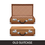 Old Suitcase Illustration Royalty Free Stock Images