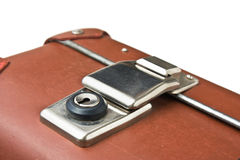 Old suitcase isolated Stock Photo