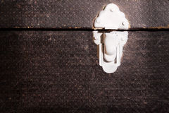 Old suitcase lock Stock Images