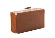 Old suitcase trunk Stock Photography