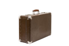 Old suitcase. Vintage style Royalty Free Stock Image