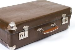 Old suitcase. Vintage style Royalty Free Stock Images