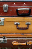 Old suitcases Stock Image