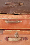 Old suitcases detail Royalty Free Stock Image