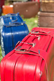Old suitcases Royalty Free Stock Photo