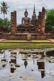 Old Sukhothai Temple. Royalty Free Stock Image