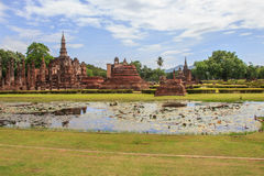 Old Sukhothai Temple. Royalty Free Stock Photography